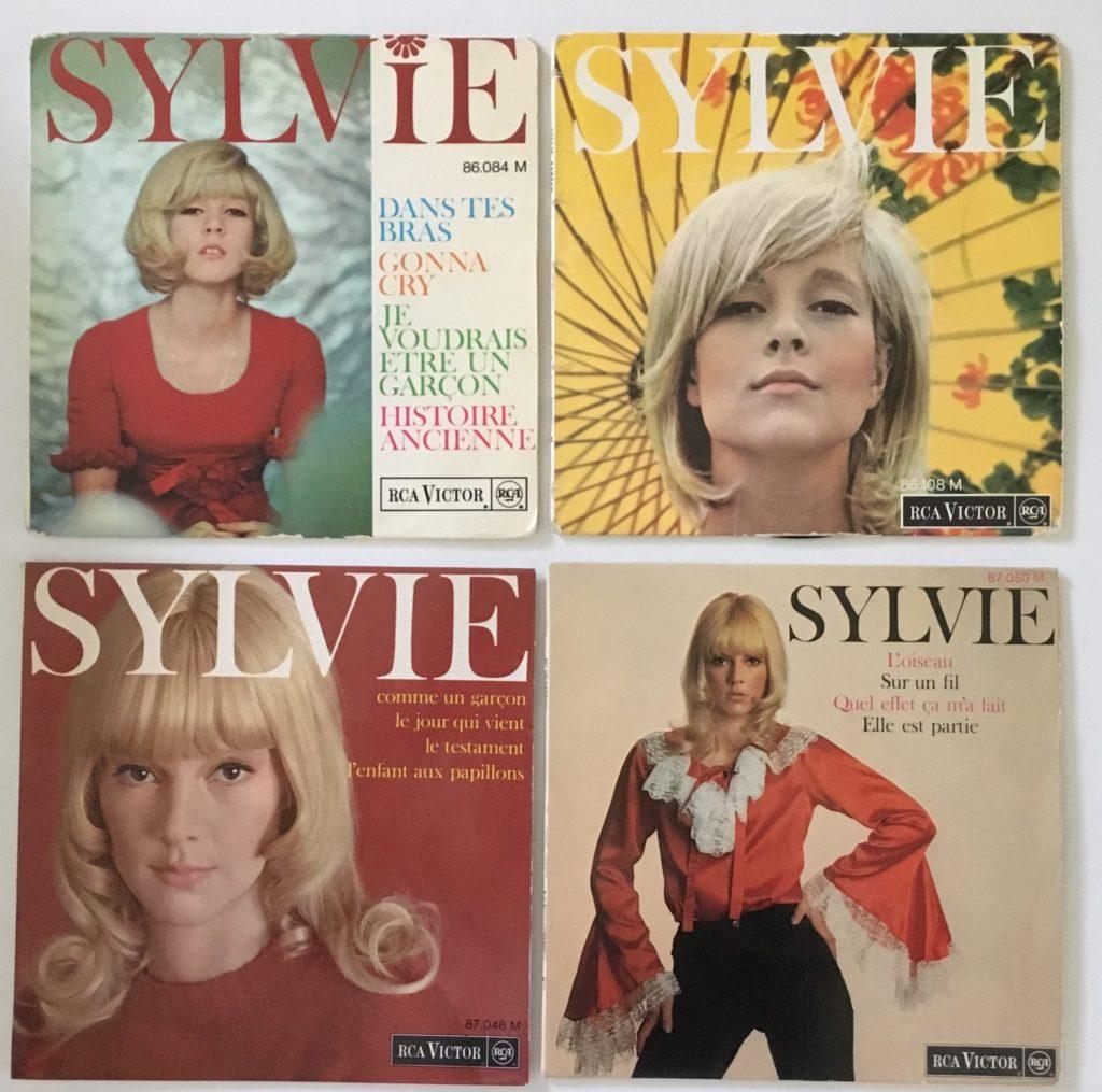 Le Super 45s Sylvie Vartan